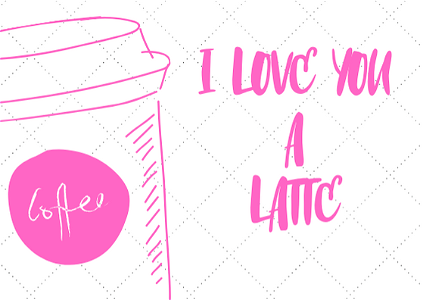 Foto I Love you a latte